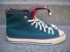 Vtg CONVERSE Christmas Bells Jingle High Top Shoes Sneakers Men's Kicks Size 9.5