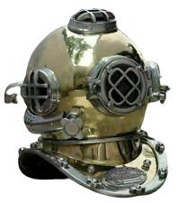 Nautical Vintage Finish Antique Look Home Decor Diving Helmet Replica