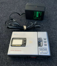 Sony Portable Mini Disc Recorder MZ-R30 MD Walkman & ac adapter