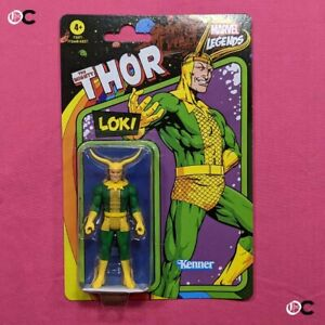 """Kenner Marvel Legends Retro Wave 4 - Loki 3.75"""" Action Figure"""