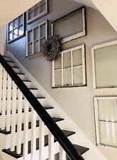 Architectural Salvage ~ ANTIQUE WINDOW SASH COLLAGE, 5 PIECES, BEST DEAL!