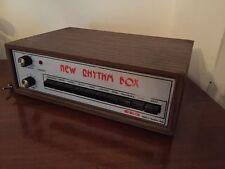 Batteria Elettronica Eko New Rhythm Box Vintage Made In Italy Drum Box Beat