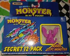 MONSTER IN MY POCKET - neon purple griffen box - only one monster