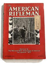 1936 NRA American Rifleman Magazine Western Ammo Ads Kentucky Flintlock Rifle +