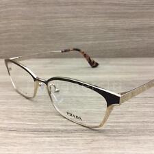 88792ae17827 Prada VPR50R Eyeglasses Brown Gold Spotted Purple Havana ZVN-1O1 Authentic  54mm