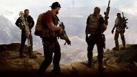 """001 GHOST RECON - WILDLANDS Shoot Gun FPS Hot Game 24""""x14"""" Poster"""