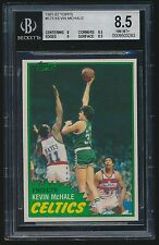 1981-82 Topps rookie #E75 Kevin McHale rc BGS 8.5