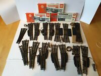 FLEISCHMANN HO/OO JOB LOT OF ELECTRIC POINTS X 15 SOME ARE BOXED (K111)