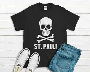 St. Pauli T-shirt - Skull Cross German Soccer Top Socialist Left Wing
