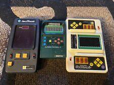 vintage Mattel Entex Color Electronic Games Lot Space Invaders tested working