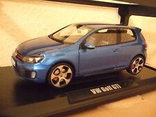 VW GOLF 6 VI GTI 2010 Mercato - Blue Metallic von NOREV 1:18 NEU & OVP