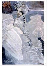 "Swan Princess. By Mikhail Vrubel. Fine art print NEW 16"" x 20"""