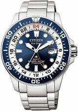 Citizen Promaster Super Titanium Eco-Drive GMT Watch BJ7111-86L