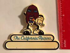 "**RARE** VINTAGE "" CALIFORNIA RAISIN"" (2 INCH to 2 3/4 INCH TALL) BADGE PIN #255"