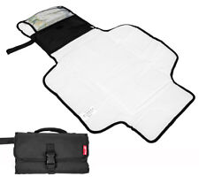 Allis Baby Travel Changing Mat Foldable Changing Pouch Bag Nappy Bag - Black