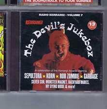 SEPULTURA / KORN / ROB ZOMBIE / GARBAGE + Devil's Jukebox KERRANG CD