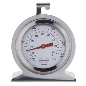 OVEN THERMOMETER STAINLESS STEEL GAUGE TEMPERATURE COOKER RANGE - 23/400/3
