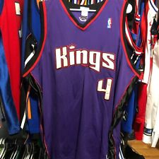 Vintage Sacramento Kings Chris Webber Authentic Reebok Jersey 56