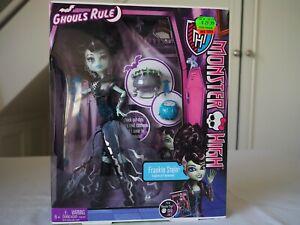 Monster High Doll Ghouls Rule - 2012 - Frankie Stein NIB