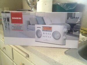 Sangean Pr-D5 Digital Tuning Portable Stereo Radio Brand New