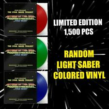 Star Wars Trilogy John Williams Original Movie Score RANDOM Light Saber Vinyl LP