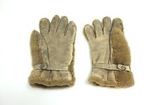 VINTAGE WWII ERA CANADA RCAF ROYAL MOUNTIE PILOTS GLOVES BY SELLINGER'S LEATHER