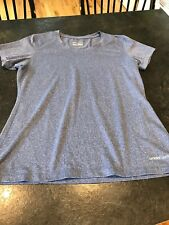 Women's Under Armour Blue Purple Short sleeve T-Shirt Size XL