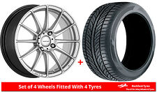 "Alloy Wheels & Tyres 15"" Inovit Force 4 For Ford Focus [Mk1] 98-04"