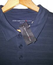 John Varvatos USA Polo Shirt Men's XL NEW Midnight Blue