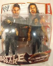 Mattel WWE Battle Pack Series #24 Reigns and Rollins Action Figures First Time