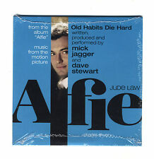 Cd PROMO MICK JAGGER Old habits die hard ALFIE OST single The Rolling Stones