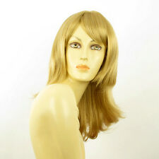 Perruque femme mi-longue blond doré LILI ROSE 24B