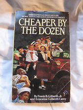 Cheaper by the Dozen by Frank B. Gilbreth (1988, PB)