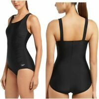 NEW!!! Speedo Women's One Piece Swimsuit, Moderate Cut Size&Color VARIETY!!!