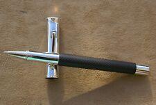Magnifique stylo rollerball Haut de Gamme GRAF VON FABER CASTELL guilloché