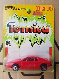 Tomica F24 - LOTUS ESPRIT [RED] MINT VHTF YELLOW AUSTRALIA BLISTER CARD GOOD