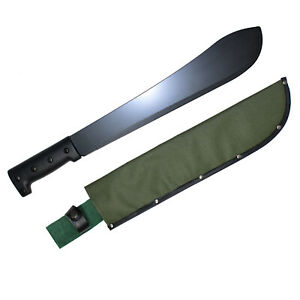 Machete bolo style hardened steel with sheath survival machete bush machete