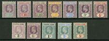 Sierra Leone  1904-05  Scott # 77-88  Mint Lightly Hinged to Hinged Part Set