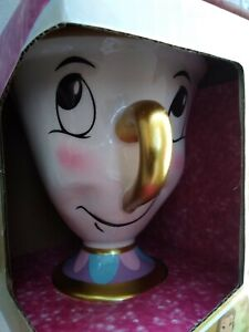 Disney Princess Chip Mug (Beauty and the Beast Ceramic Cup) New/Boxed Easter