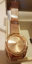 Ellen Tracy Women's Quartz Automatic Watch Color:Rose Gold New NIB solid