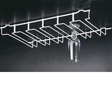 COLGADOR DE COPAS EN ARMARIOS O TABLAS (soporte para 18 copa aprox.) tazas