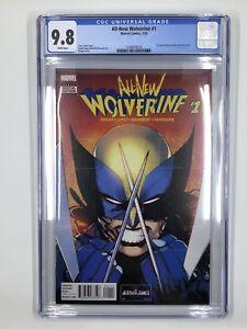 Marvel's All-New Wolverine #1 CGC 9.8