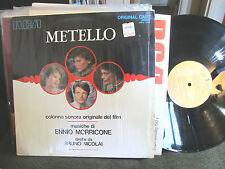 Ennio Morricone Metello Rare Italian Soundtrack LP OST RCA '70 bruno nicolai kol