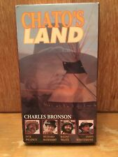 Chato's Land VHS western Charles Bronson Jack Palance half-breed Apache Indian