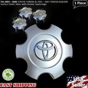 New 1pc TOYOTA TUNDRA 2003 2004 2005 2006 WHEEL CENTER HUB CAP SILVER 560-69440