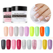 10ml NICOLE DIARY Nail Dipping System Powder Polvere Nails Natural Dry Kit