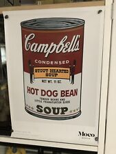 Andy Warhol Moco Museum Poster - Campbell's Soup Can