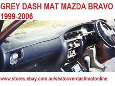 DASH MAT,GREY DASHMAT,DASHBOARD COVER FORD COURIER+ MAZDA BRAVO 1999-2006,  GREY
