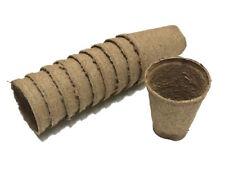70mm Round Jiffy Pots X 200pcs - Propagation Seedling Herbs Veggie
