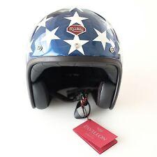 Ruby Motorcycle Helmet Pavillon Costume USA Flag Size L